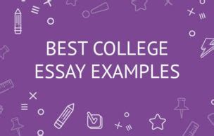 Top college essay examples